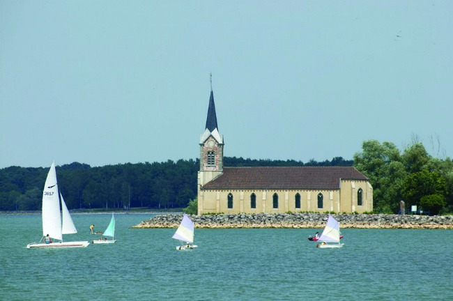 Photo du lac du Der en Champagne Ardenne