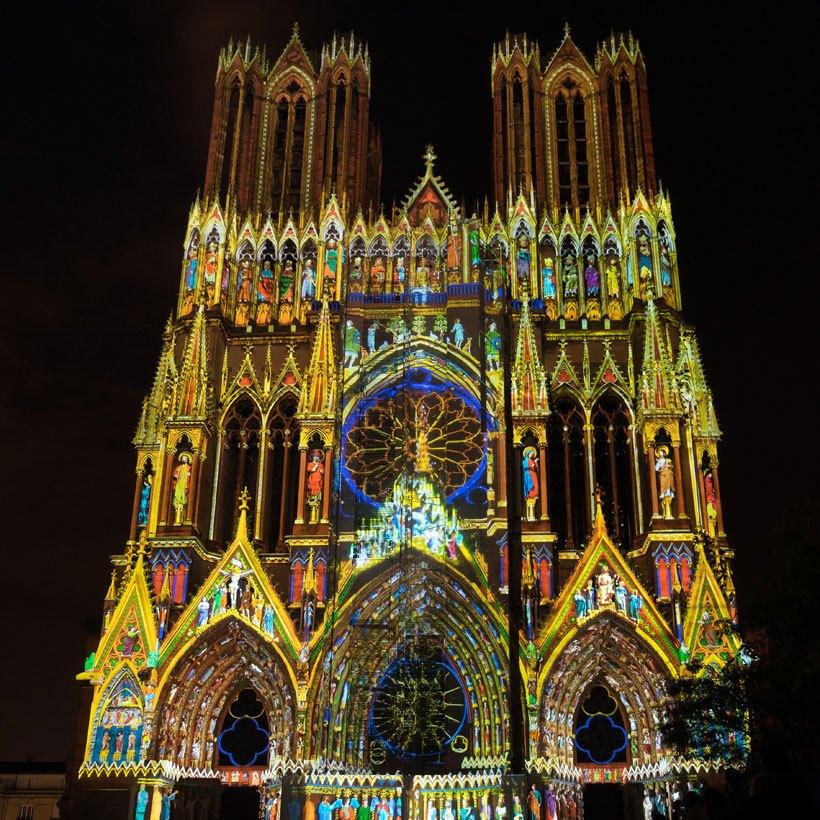 L'histoire tragique et triomphante de la cathédrale de Reims en France 6