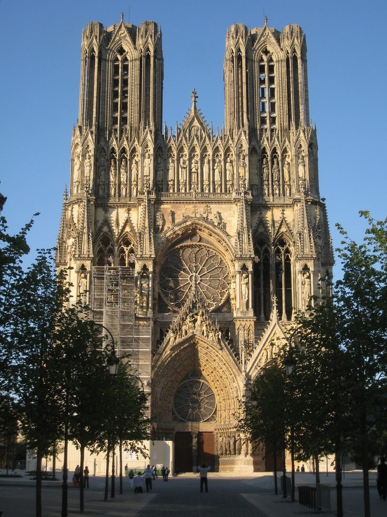 Photo de la cathédrale de Reims