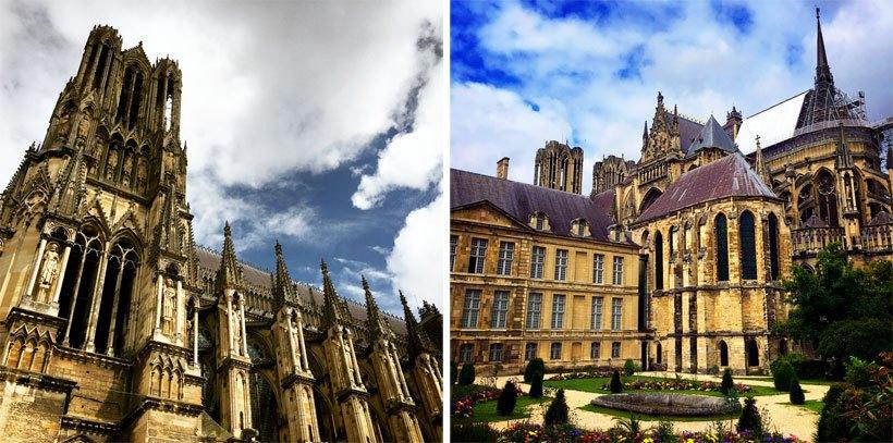 L'histoire tragique et triomphante de la cathédrale de Reims en France 2