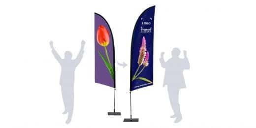 Comment augmenter votre visibilité avec des drapeaux publicitaires ? 2