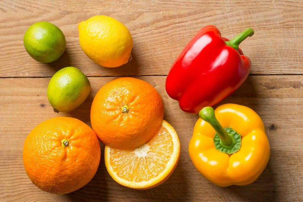 La vitamine C dans les fruits et les légumes