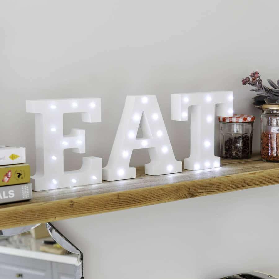 Comment décorer votre maison avec des lettres lumineuses ? 1