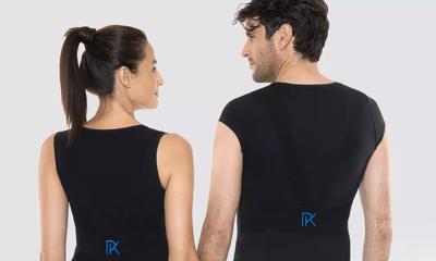 Le t-shirt Percko pour en finir avec les problèmes de posture 36
