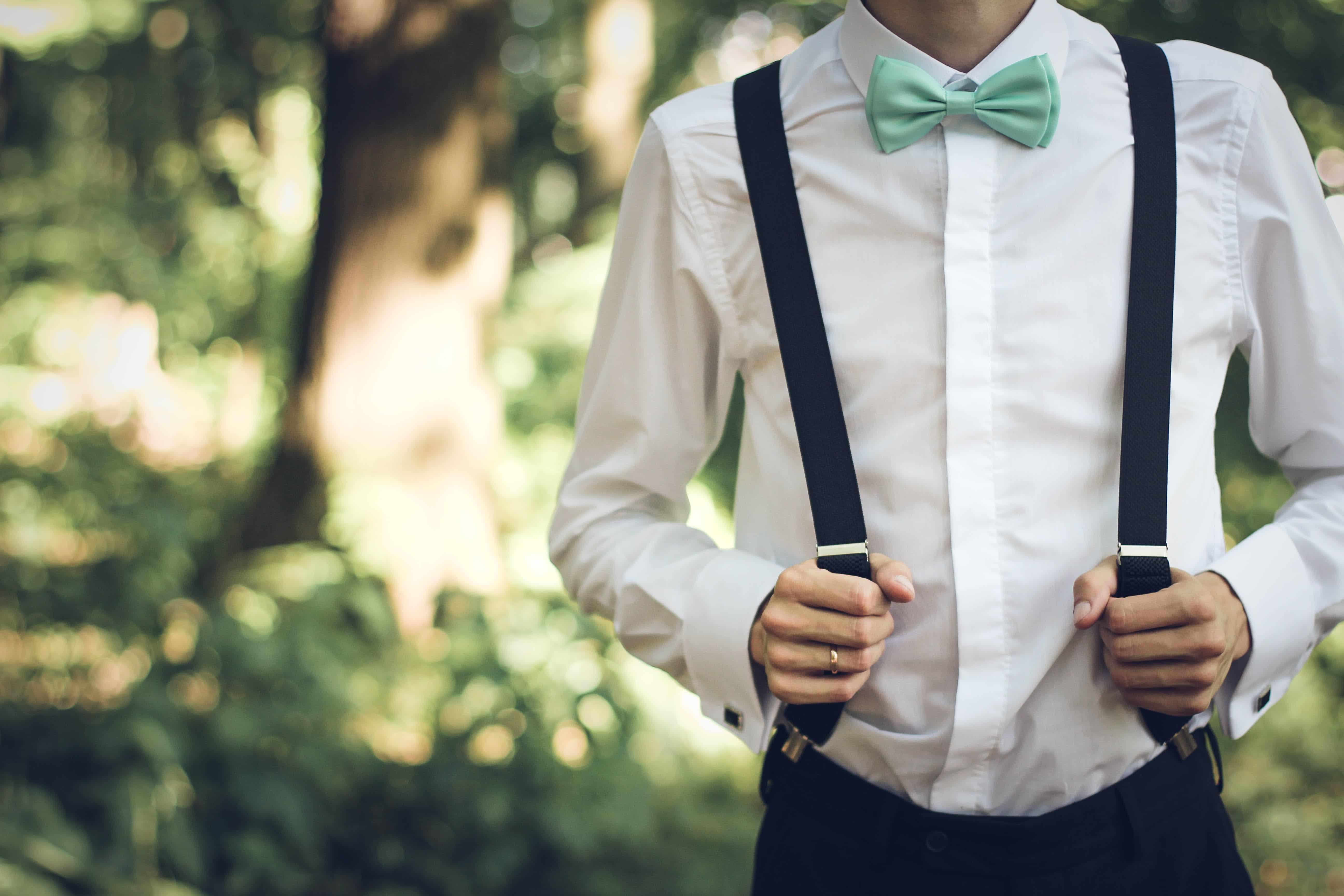 Comment porter des bretelles pour homme? 1