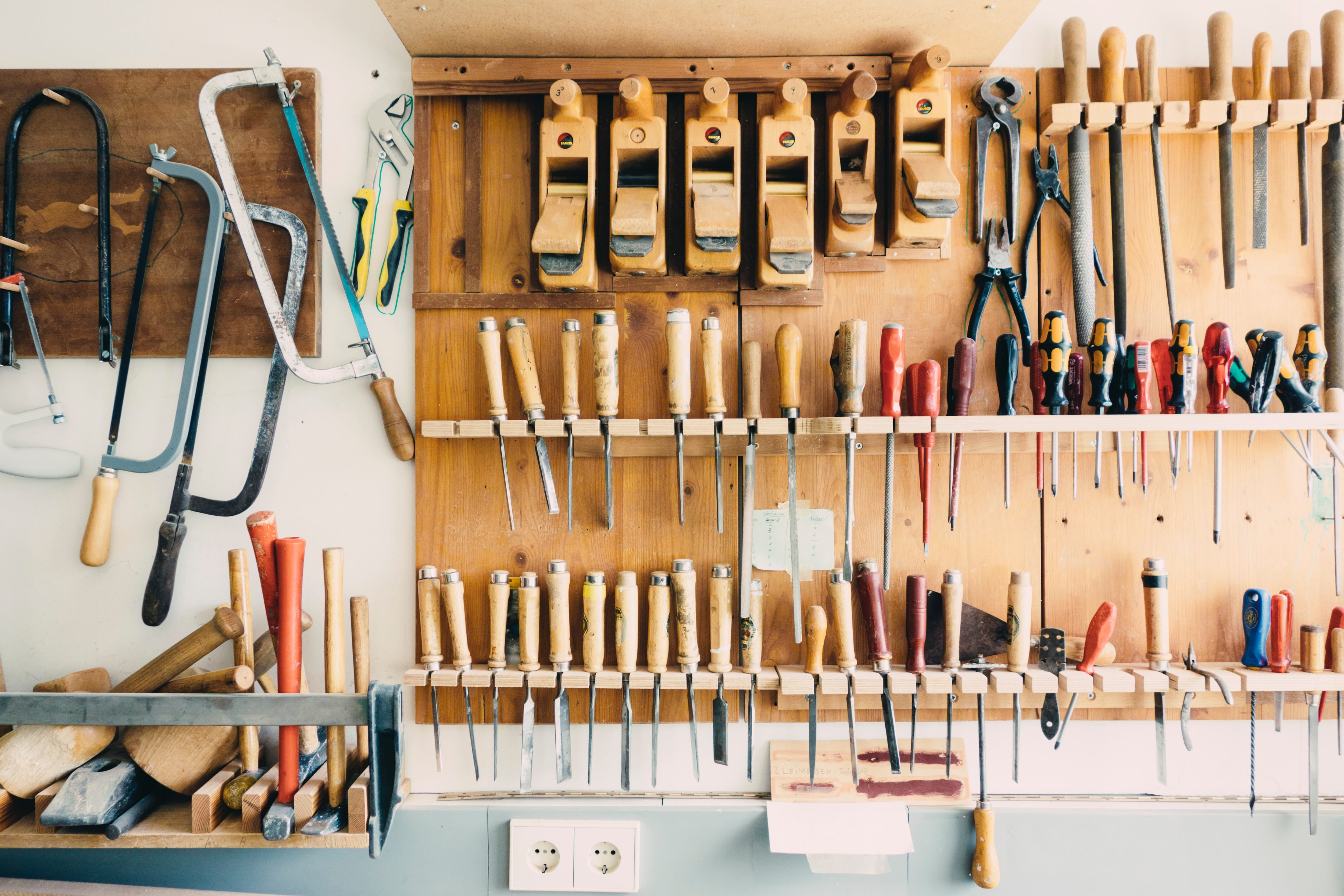 Les outils indispensables pour vos travaux de bricolage 1